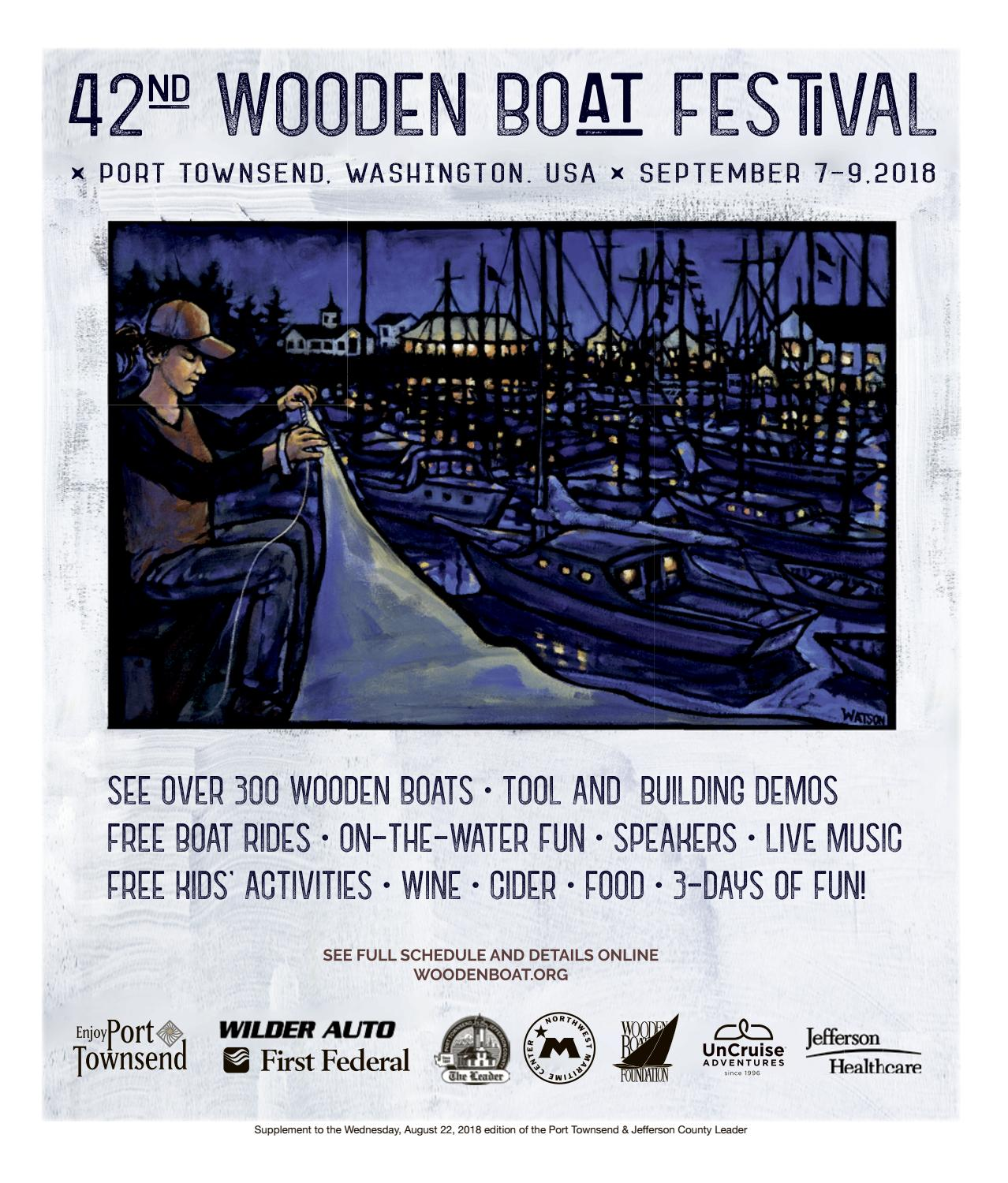 8848fdd06d6bf Wooden Boat Festival Program 2018 by Port Townsend Leader - issuu