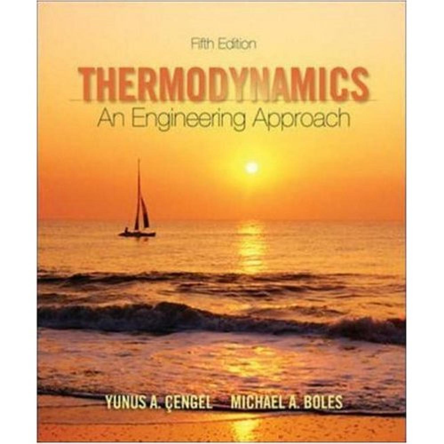 Thermodynamics: An Engineering Approach - 5th Edition - Part