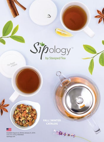22e15c4d5c1 Fall | Winter 2018 Catalog US by Sipology by Steeped Tea - issuu