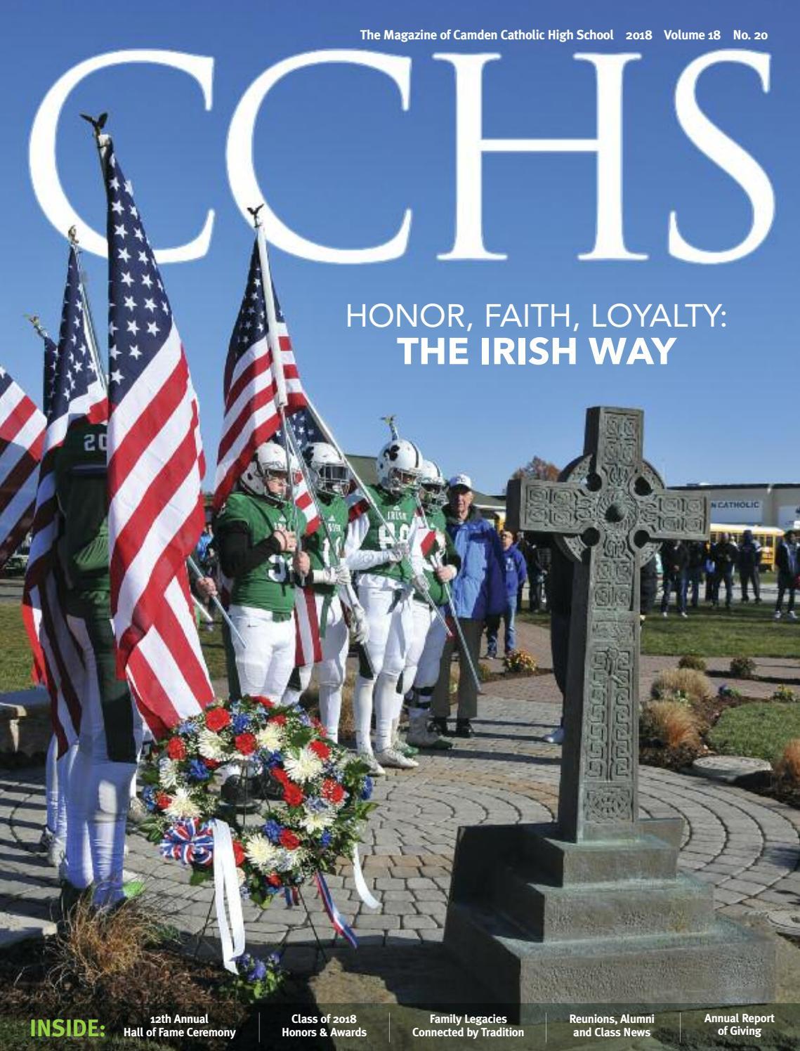 A Surprising Family Legacy Molecular >> Cchs Magazine 2018 By Camden Catholic High School Issuu