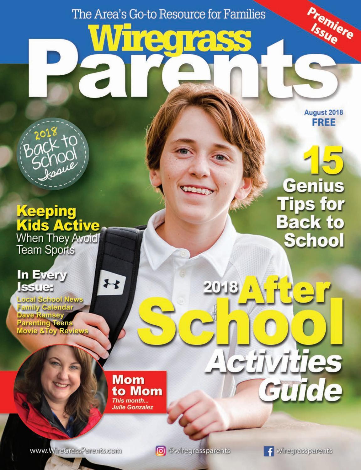 Wiregrass Parents Magazine August 2018