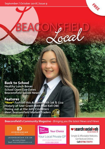 ed15cf09f74e Beaconsfield Local - September October 2018 Edition by Beaconsfield ...