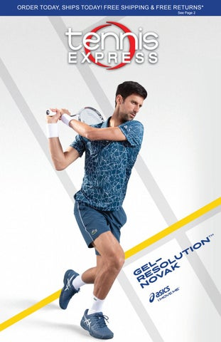 bc19ee2a37 Tennis Express Fall 2018 Catalog by Tennis Express - issuu