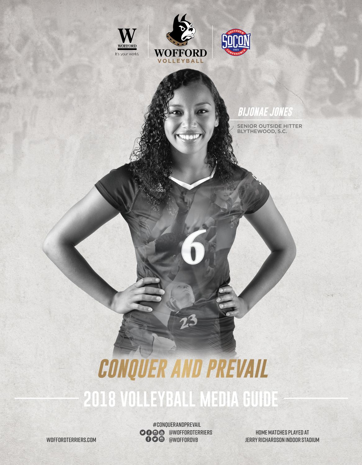 d01344c06df6 2018 Wofford Volleyball Media Guide by Wofford Athletics - issuu
