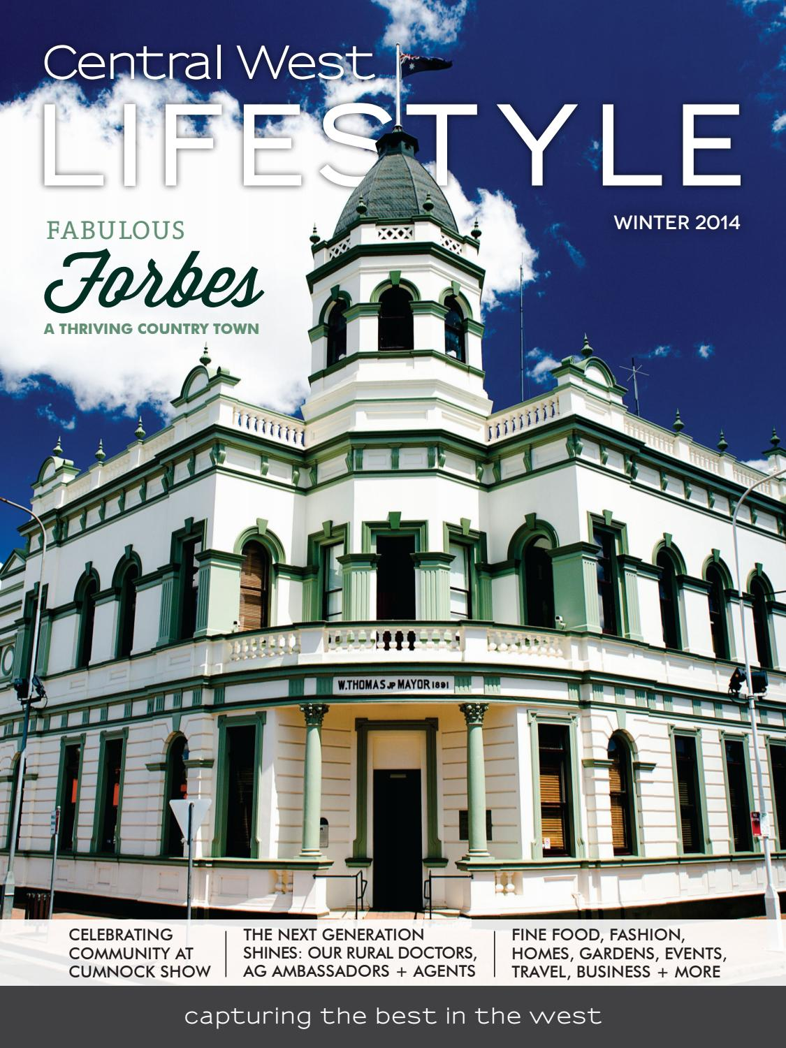 5 Central West Lifestyle Winter 2014 By Police 12591jsbnr 13 Coklat Ring Rosegold Magazine Issuu