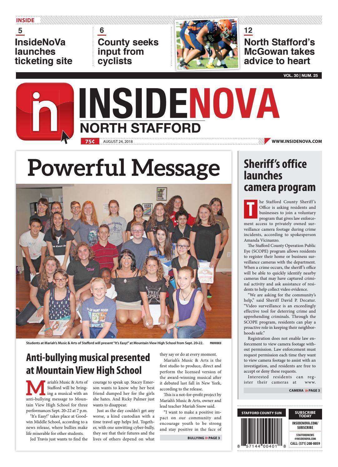 InsideNoVa/North Stafford, August 24, 2018 by InsideNoVa - issuu