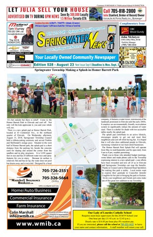 39c3f39b4 Springwater News by Springwater News - issuu