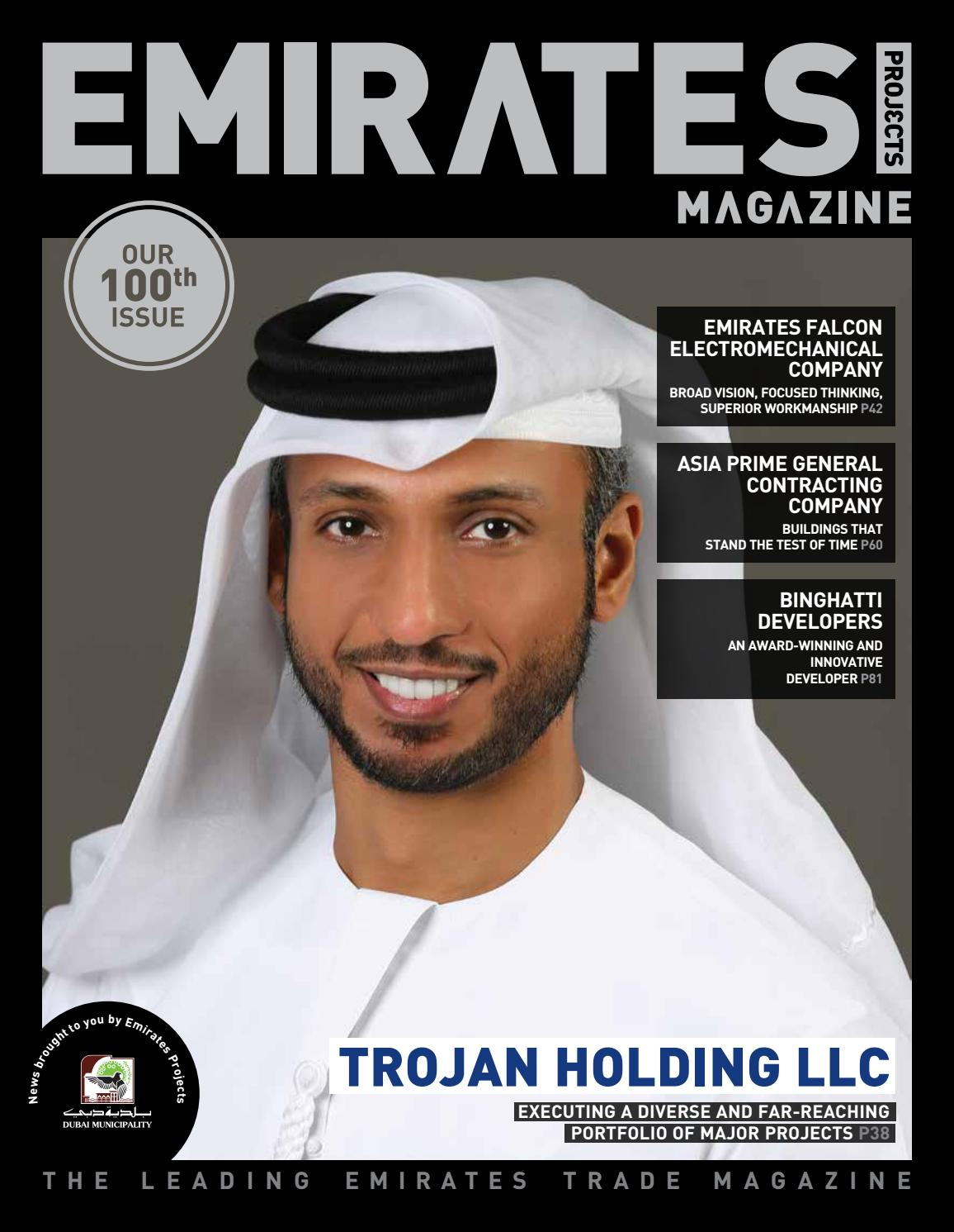 Emirates Projects Magazine Issue 100 by tpg publishing - issuu