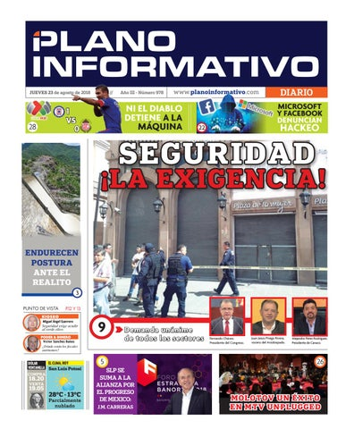dcb357db Plano Informativo Impreso Año 3 No. 978 by Plano Informativo - issuu
