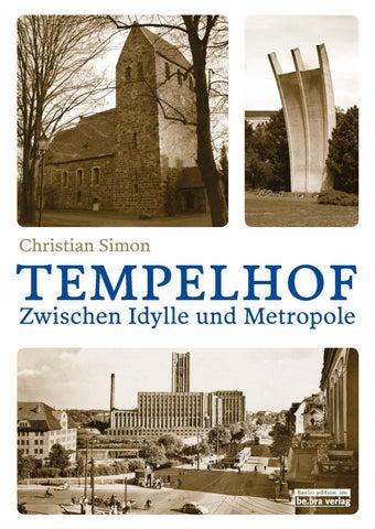Tempelhof Leseprobe By Be Bra Verlag Issuu