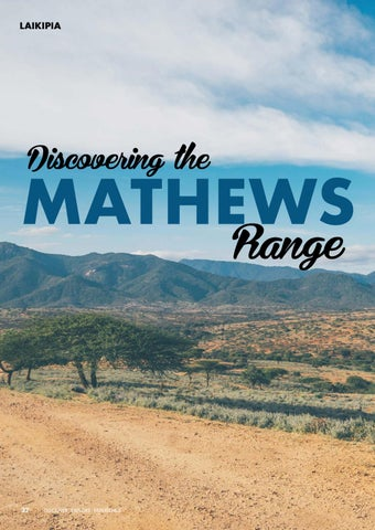Page 34 of Discovering the Mathews Range