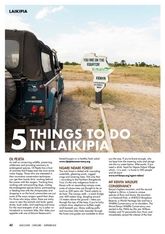 Page 44 of 5 Things to Do in Laikipia