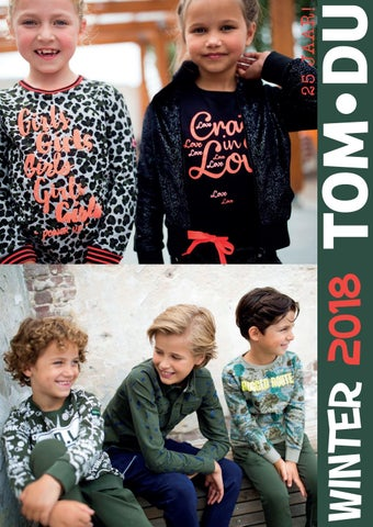 Tom Du Kinderkleding.Tom Du Winter 2018 By Tom Du Issuu