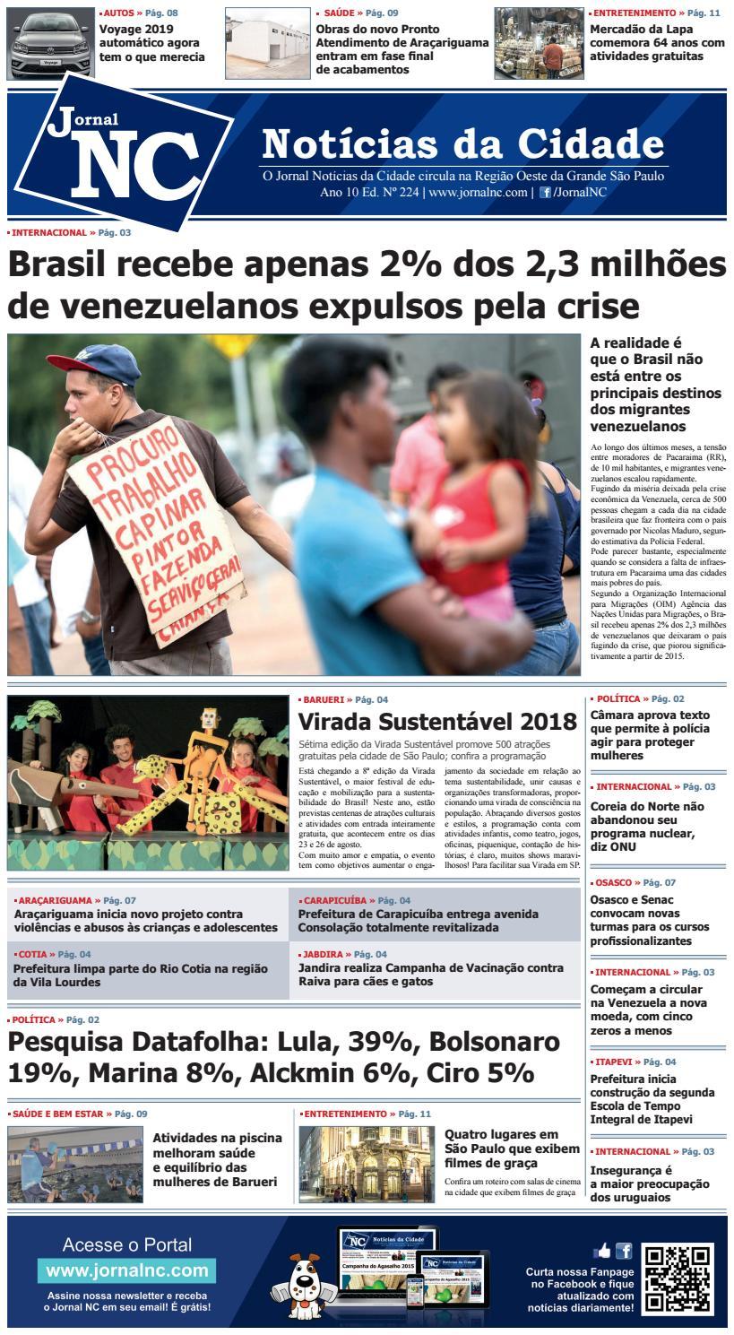 7111d19042 Jornal NC - Notícias da Cidade - Ed. Nº 224 by Jornal NC - issuu