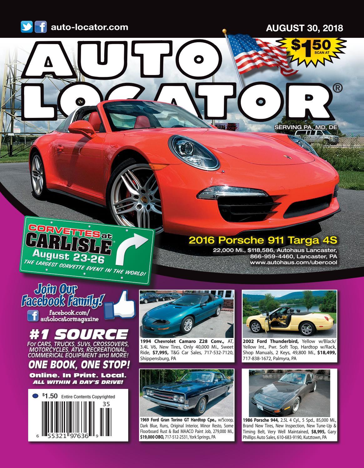 08-30-18 Auto Locator Blue Edition by Auto Locator and Auto