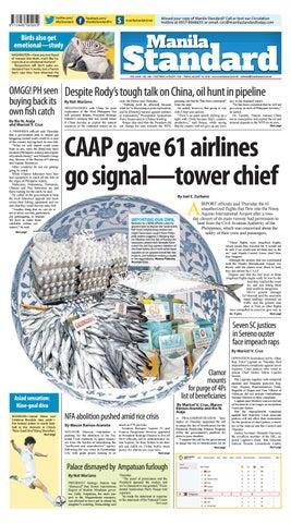 Manila Standard 2018 August 24 Friday by Manila Standard