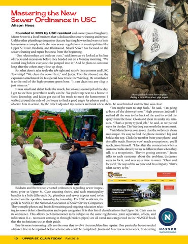 Page 12 of Mastering the New Sewer Ordinance in USC