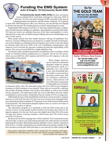 Page 33 of Funding the EMS System