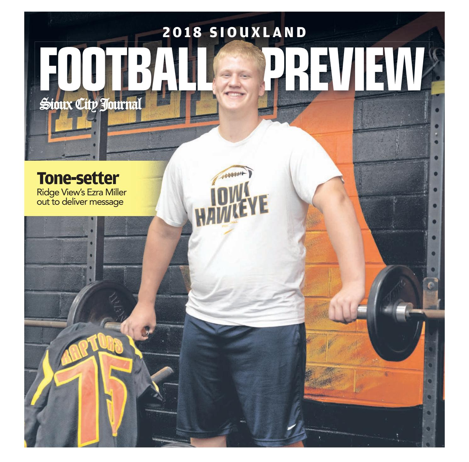 2018 Football Preview by Sioux City Journal - issuu