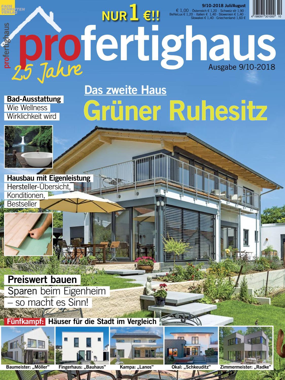 Profertighaus 9 10 2018 By Fachschriften Verlag Issuu