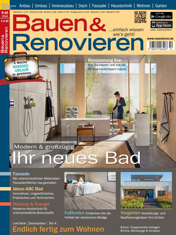 Bauen & Renovieren 9/10-2018 by Fachschriften Verlag - issuu