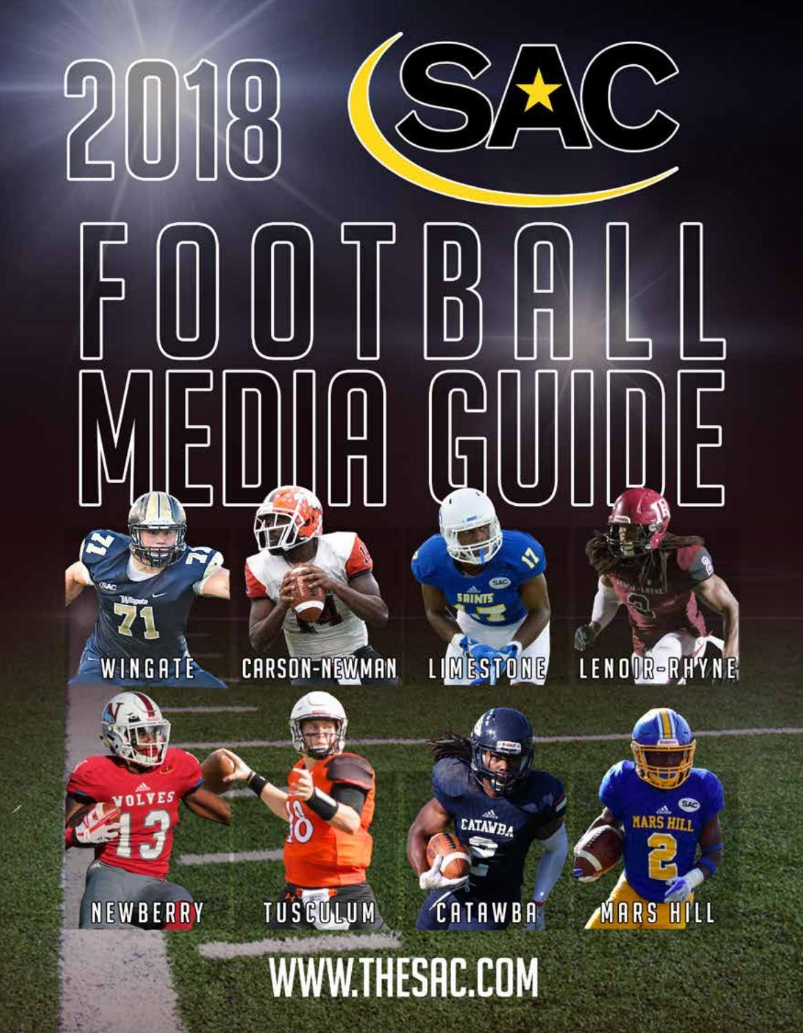 2018 SAC Football Media Guide by The SAC - issuu