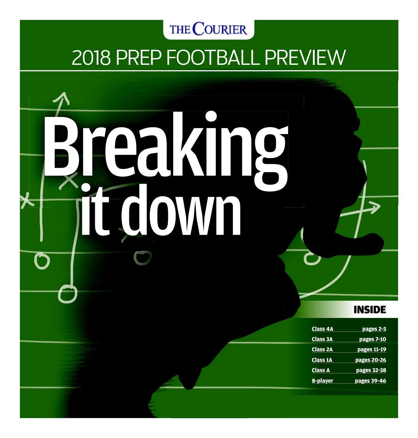 Prep Football Preview 2018 by Waterloo-Cedar Falls Courier - issuu 2276ea58ab34