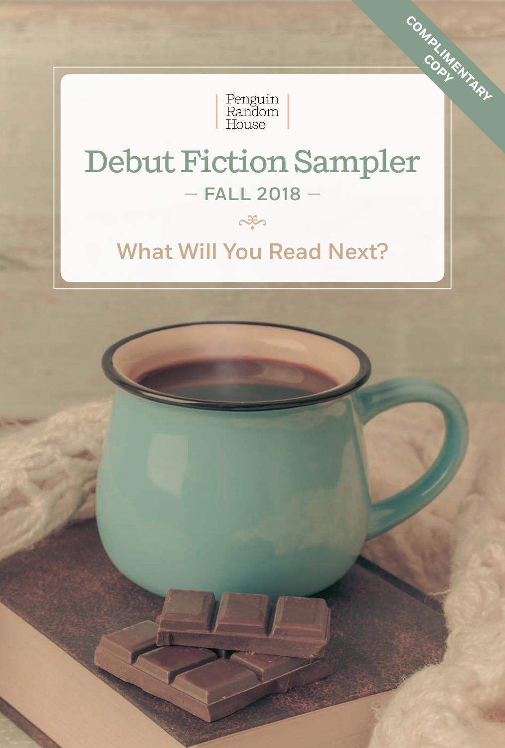 d004ab5143b5a Debut Fiction Sampler  Fall 2018 by PRH Library - issuu