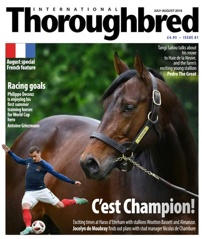 787017c5031a6 ITB July-August2108 by Thoroughbred Publishing - issuu