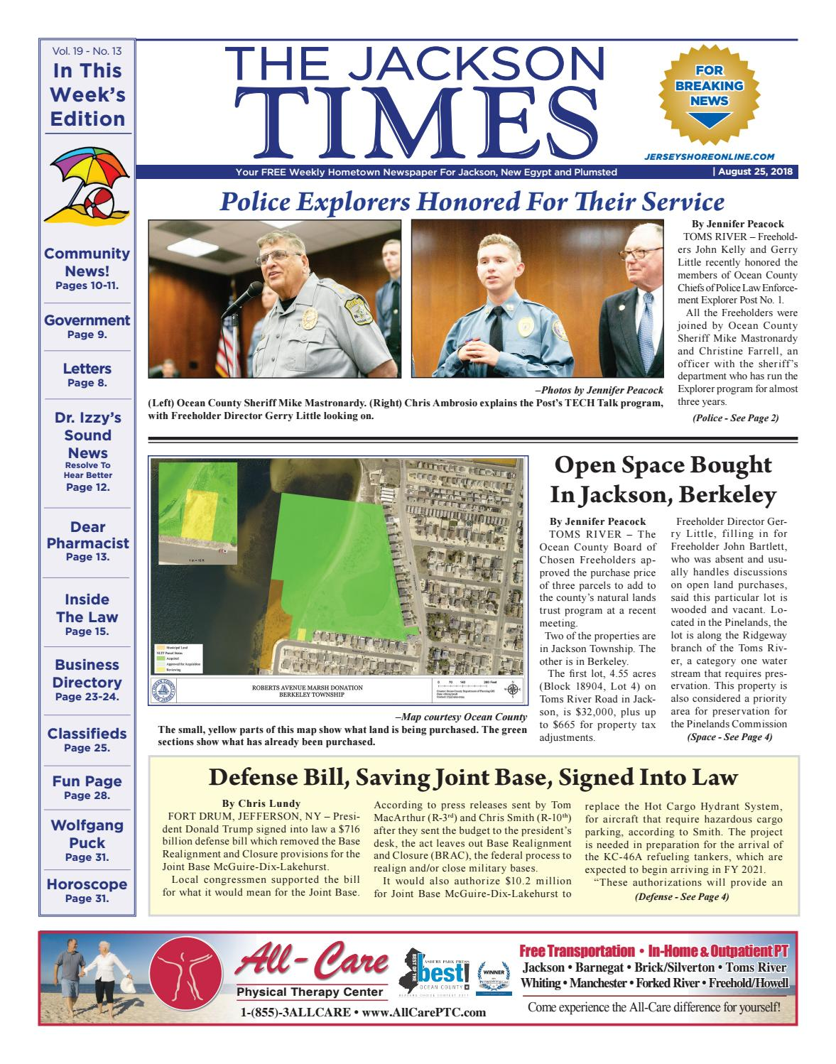 2018-08-25 - The Jackson Times by Micromedia Publications