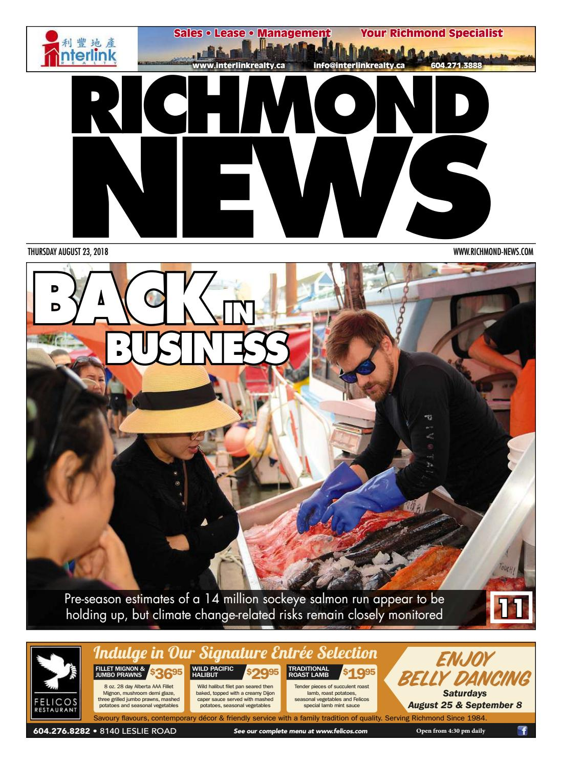 Richmond News August 23 2018 by Richmond News - issuu