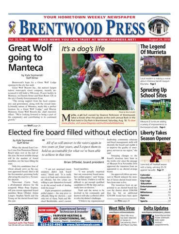 6ce98a68c24c14 Brentwood Press 08.24.18 by Brentwood Press   Publishing - issuu