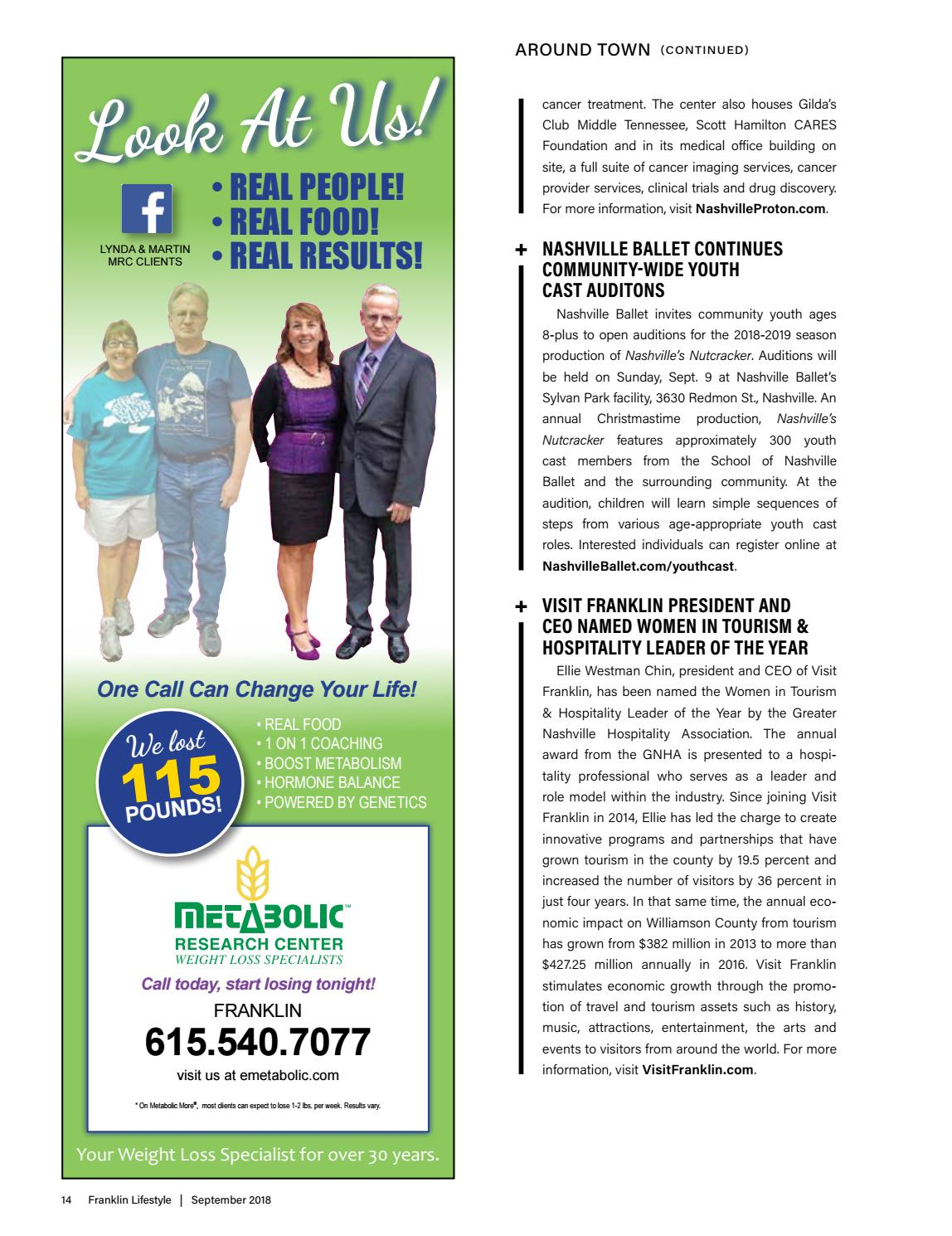 Franklin Tn September 2018 By Lifestyle Publications Issuu