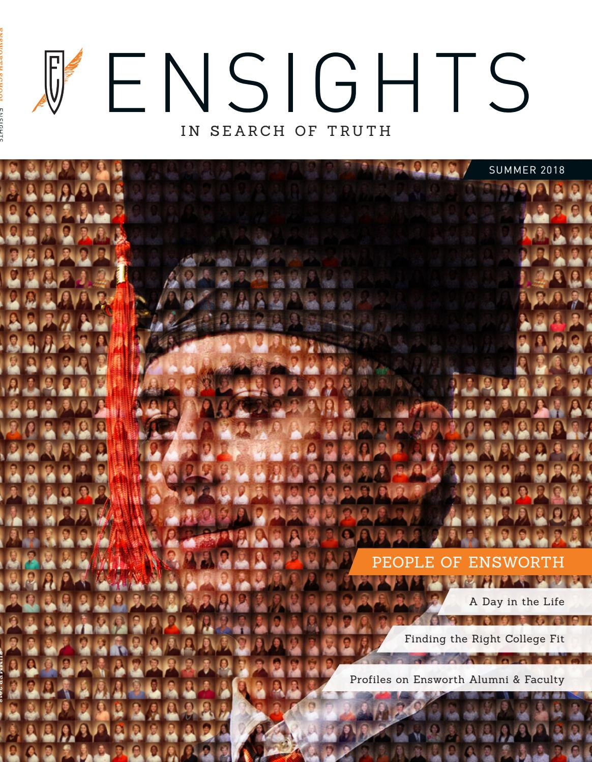 Ensworth Ensights Summer 2018 By The Ensworth School Issuu Josh potter is on mixcloud. ensworth ensights summer 2018 by the