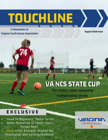 August 2018 Touchline By Va Youth Soccer Association Issuu