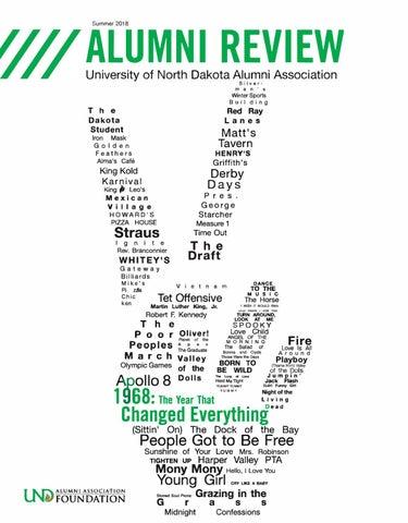 b4752b5cd UND Alumni Review Summer 2018 by UND Alumni Association - issuu