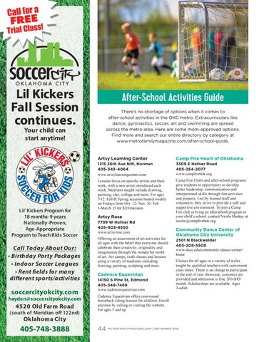 Page 44 of After-School Activities Guide