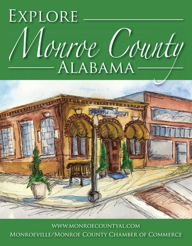 They Helped Make History At 1709 Monroe >> Monroeville Al Community Profile By Town Square Publications Llc