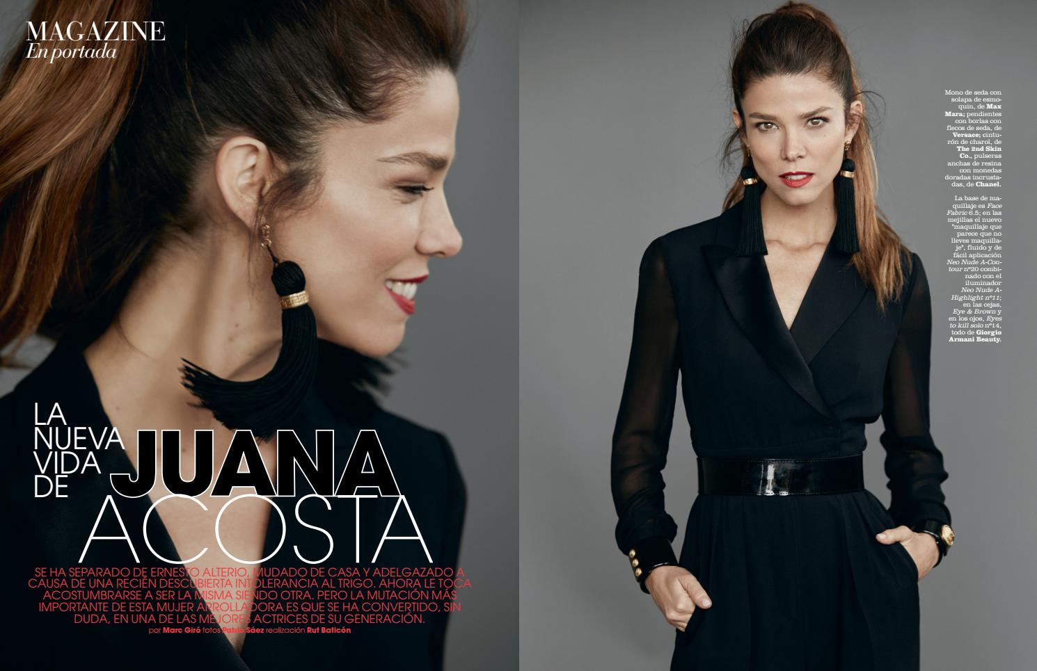 Juana Acosta Portada De Marie Claire By Juana Acosta Issuu