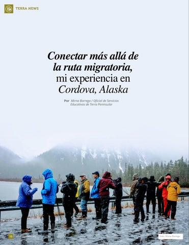 Page 14 of Conectar más allá de la ruta migratoria, mi experiencia en Cordova, Alaska