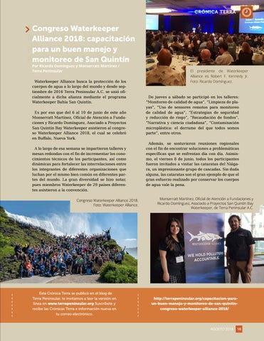 Page 19 of Congreso Waterkeeper Alliance 2018