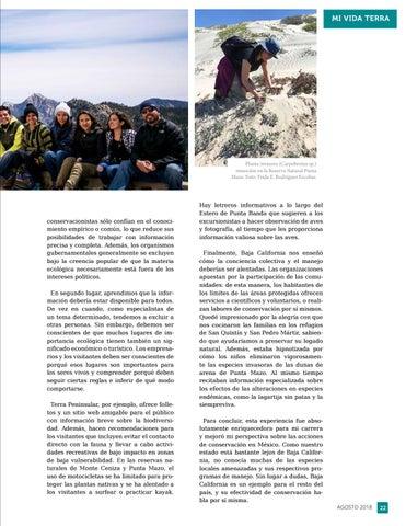 Page 23 of Cuando hagas conservación, haz como los bajacalifornianos