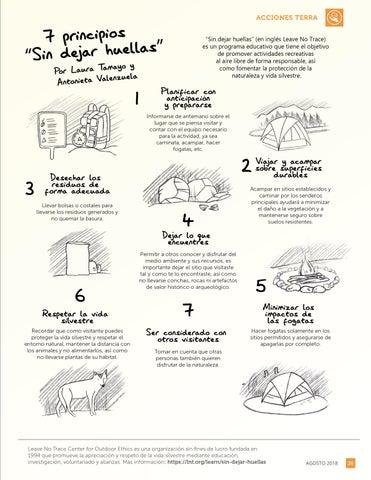 """Page 27 of 7 principios """"Sin dejar huellas"""""""