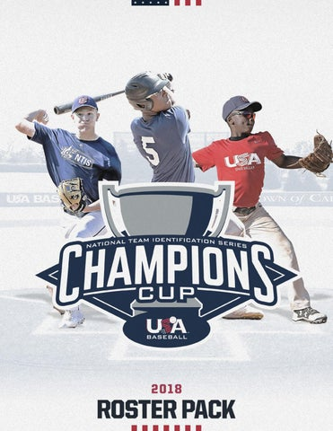 2018 NTIS Champions Cup Program by USA Baseball - issuu