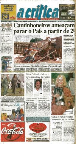 Jornal A Crítica - Edição 975 - 30 04 2000 by JORNAL A CRITICA - issuu 44148b1bc62