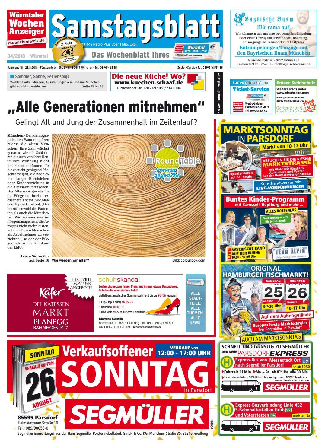 70d17ba1ed7db KW 34-2018 by Wochenanzeiger Medien GmbH - issuu