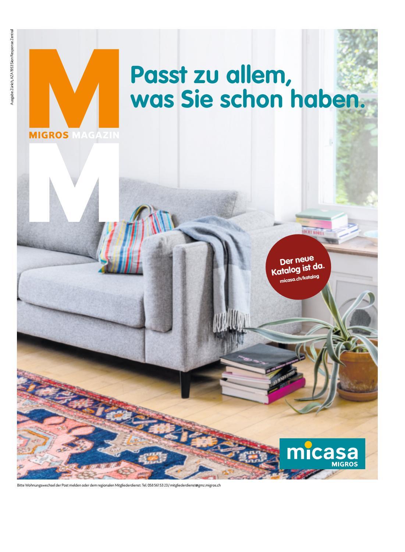 Migros Magazin 35 2018 d ZH by Migros Genossenschafts Bund