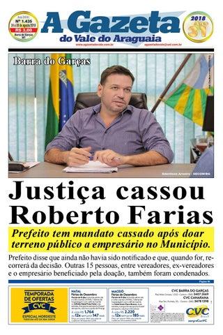 A Gazeta do Vale do Araguaia - Edição 1.435 by A Gazeta do Vale do ... 7749266ab5f