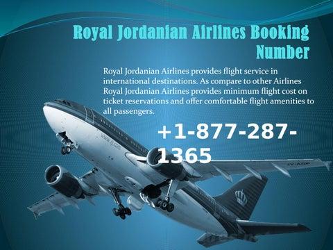 royal jordanian book flight