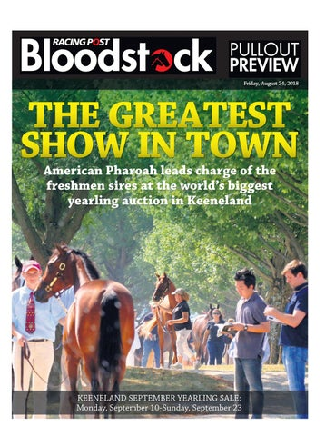 Keeneland September Yearlings Sale by RACING POST BLOODSTOCK